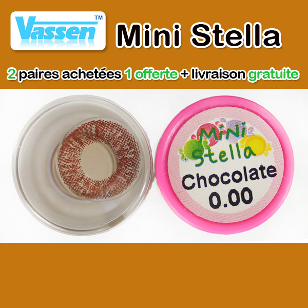 VASSEN STELLA CHOCO LENTILLE CONTACT MARRON