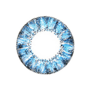 VASSEN CRYSTAL BLEU LENTILLE CONTACT BLEUE
