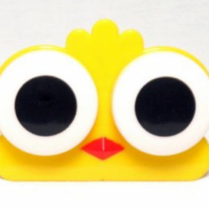 Etui Lentilles de Contact Animal Zoo Big eyes Yellow Chick